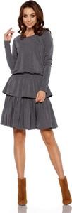 Sukienka Lemoniade z bawełny w stylu casual z długim rękawem