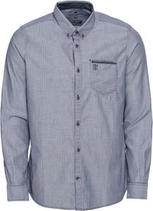 Niebieska koszula Tom Tailor z bawełny