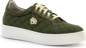 Zielone buty sportowe Neścior w sportowym stylu