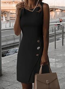Sukienka Sandbella w stylu casual z bawełny