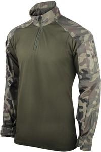 Zielona bluza Texar z bawełny