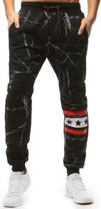 Czarne spodnie sportowe Dstreet w sportowym stylu