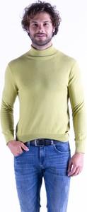 Zielony sweter MEXX z kaszmiru w stylu casual