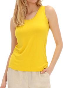 Żółta bluzka POTIS & VERSO z tkaniny