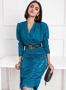 Niebieska sukienka SELFIEROOM