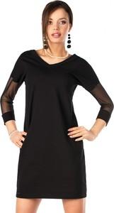 Sukienka MERRIBEL z tiulu z długim rękawem