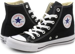 Trampki Converse wysokie z płaską podeszwą all star