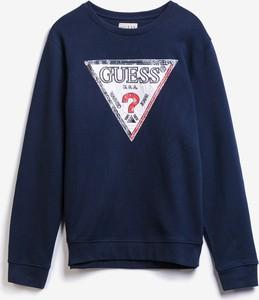 Bluza Guess z bawełny w młodzieżowym stylu