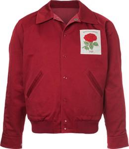 Czerwona kurtka Kent & Curwen z bawełny
