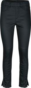 Czarne spodnie Heine z bawełny