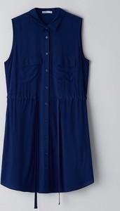 Granatowa sukienka Cropp mini
