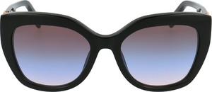 Czarne okulary damskie Just Cavalli