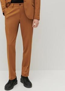 Brązowe spodnie Reserved w stylu casual z dresówki