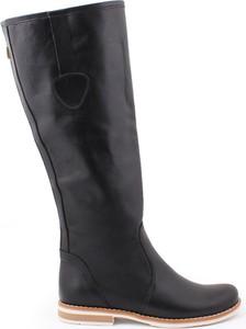 Zapato kozaki - skóra naturalna - model 127 - kolor czarny