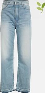 Niebieskie jeansy G-star w stylu casual