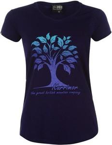 T-shirt Karrimor w młodzieżowym stylu z okrągłym dekoltem z bawełny