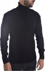 Sweter Goldenim Paris z wełny z golfem w stylu casual