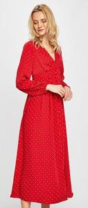 Sukienka Only maxi w stylu casual z dekoltem w kształcie litery v