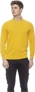 Żółty sweter Alpha Studio z okrągłym dekoltem