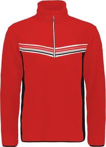 Czerwona bluza CMP z polaru