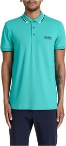 Zielona koszulka polo Hugo Boss