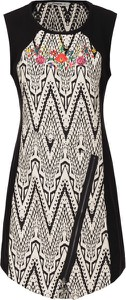 Sukienka Desigual w stylu casual midi z tkaniny