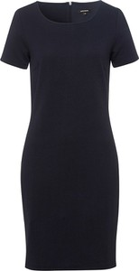 Czarna sukienka More & More z krótkim rękawem mini