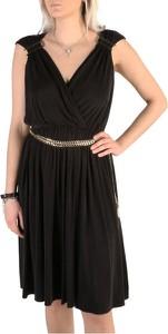 Sukienka Guess z dekoltem w kształcie litery v bez rękawów
