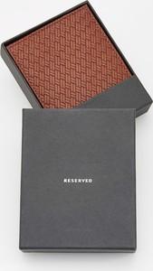 Brązowy portfel męski Reserved