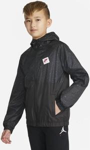 Czarna kurtka dziecięca Nike dla chłopców