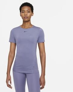 Niebieski t-shirt Nike z krótkim rękawem