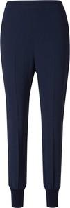 Granatowe spodnie Stella McCartney