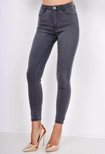 Granatowe spodnie Zoio w street stylu