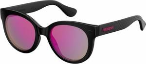 Czarne okulary damskie Havaianas