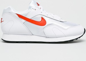 Błękitne buty sportowe Nike