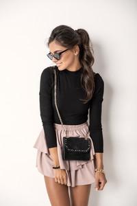 Spódnica Lalu mini z bawełny