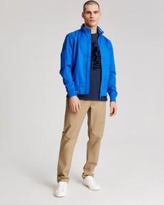 Niebieska kurtka Diverse w stylu casual z tkaniny