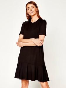 Sukienka Tommy Hilfiger w stylu casual z okrągłym dekoltem