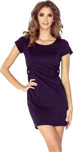 Sukienka MORIMIA mini z krótkim rękawem w stylu casual