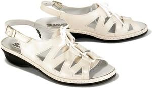 Sandały Suave ze skóry