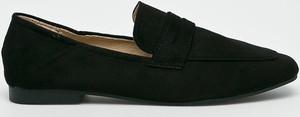 Czarne półbuty Answear w stylu casual