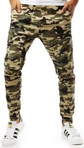 Spodnie Dstreet w militarnym stylu z bawełny