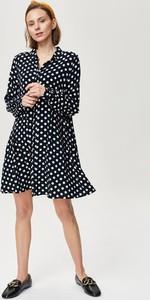 Sukienka FEMESTAGE Eva Minge koszulowa w stylu casual
