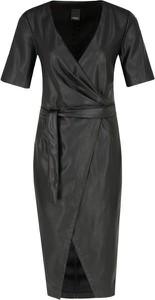 Sukienka Pinko z krótkim rękawem midi