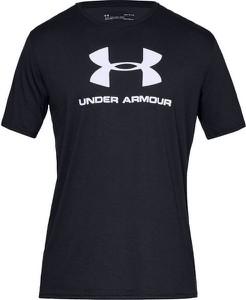 T-shirt Under Armour w sportowym stylu z krótkim rękawem z bawełny