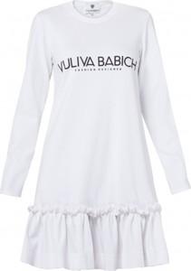 Sukienka Yuliya Babich z długim rękawem w stylu casual