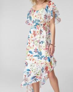 Sukienka Trendyol w stylu casual midi z krótkim rękawem