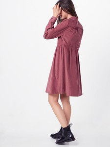 Sukienka Calvin Klein z tkaniny z długim rękawem koszulowa