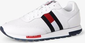 Buty sportowe Tommy Jeans sznurowane z tkaniny