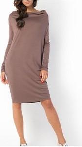Sukienka Meleksima z długim rękawem oversize